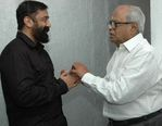 Director K.Balachandar, Kamal at Dasavatharam special screening